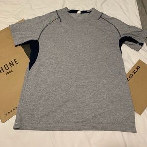 Men's Rhone Athletic Workout Shirt Size Large